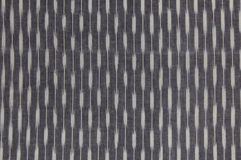PF10-Multi colour weaved Pochampally ikkat grey and white colour cotton fabric - Lydiaspurple