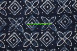 LPIFB04-Indigo malmal cotton fabric for kurti and blouse - Lydiaspurple