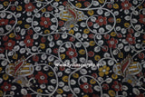 PKBLR01-Multi colour Kalamkari fabric - LydiasPurple