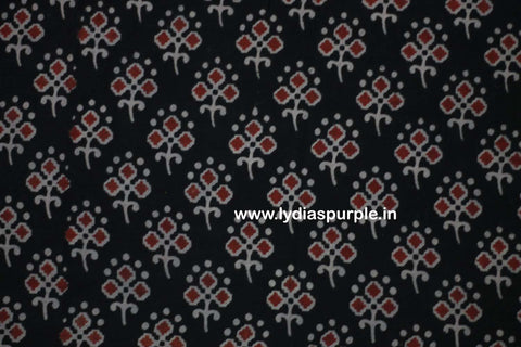 PKBRK01-Multi colour Kalamkari fabric - LydiasPurple