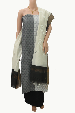 handloom dress material salwar kameez for women by lydiaspurple