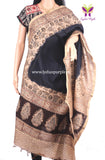Kalamkari Chanderi Silk dyed dupatta for Women