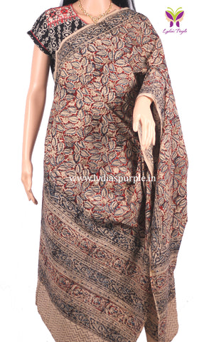 Kalamkari Cotton Dupatta for Women