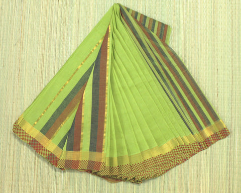 Mangalagiri cotton saree pure handloom - lydiaspurple