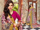 ASS12-kANCHIPURAM ART SILK SAREE - LydiasPurple