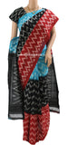 PCRBB01- Pochampally ikkat Cotton Saree - LydiasPurple