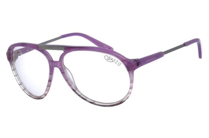 Aviator Optical Glasses Lilas Acetate