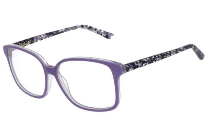 Amapo Square Optical Glasses Lilas Acetate