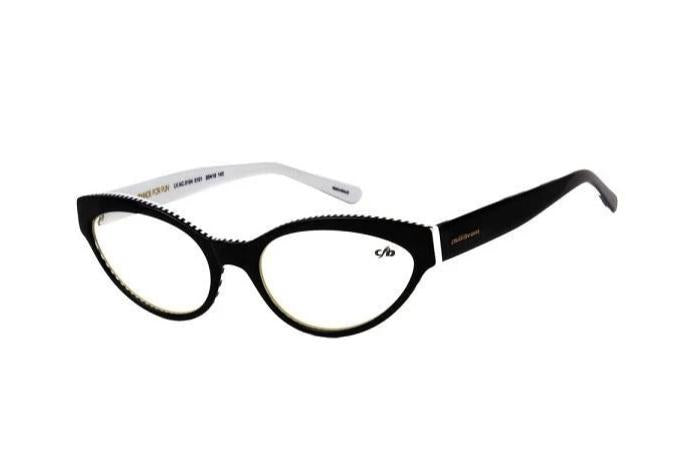 Isabela Capeto Cat Eye Optical Glasses Black Acetate