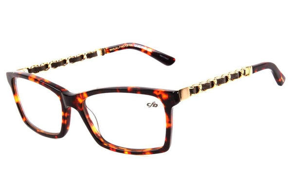 Runaway Amir Slama Square Optical Glasses Turtle Acetate