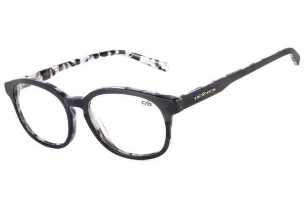 Round Optical Glasses Black Acetate
