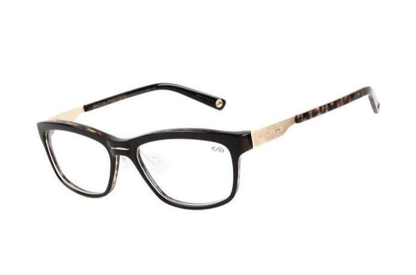Square Optical Glasses Black Acetate