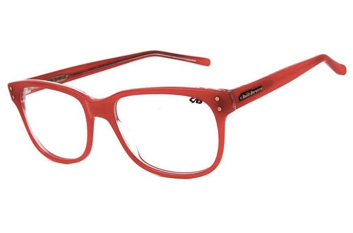 Bossa Nova Optical Glasses Red Acetate