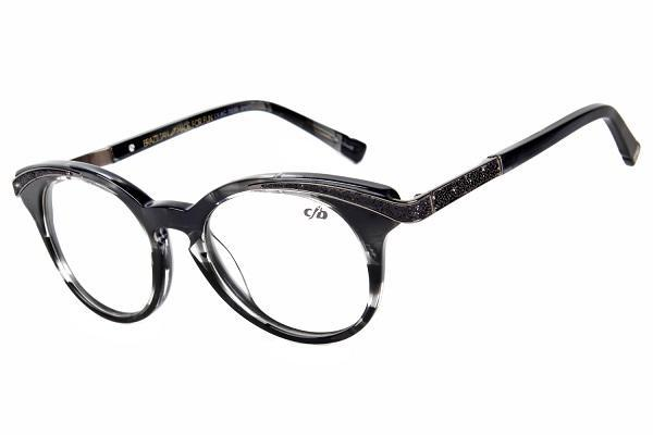 Punk X Glam Cat Eye Optical Glasses Black Acetate
