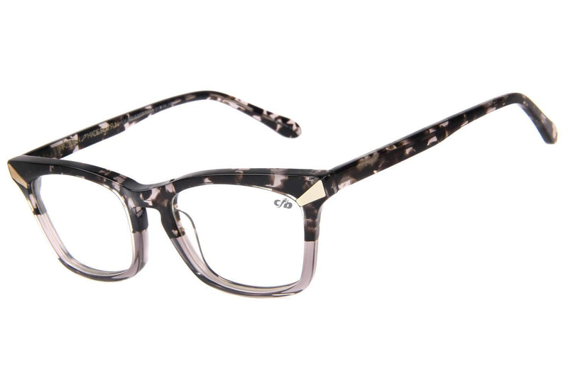 90'S Alexandre Herchcovitch Cat Eye Optical Glasses Gray Acetate