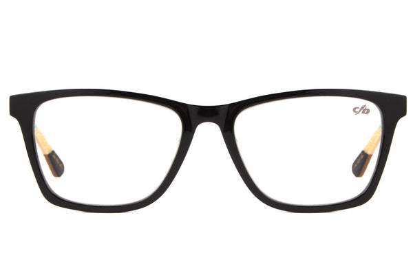 Surf Square Optical Glasses Black Acetate