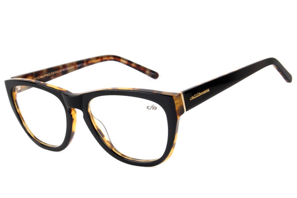 Cat Eye Optical Glasses Black Acetate