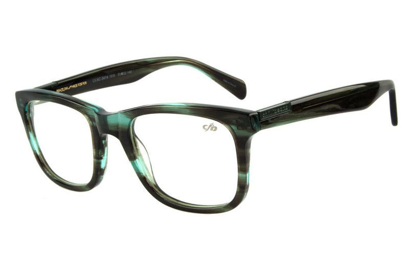 Bossa Nova Optical Glasses Green Acetate
