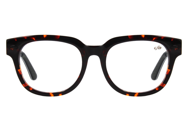 Rock In Rio Square Optical Glasses Brown Acetate
