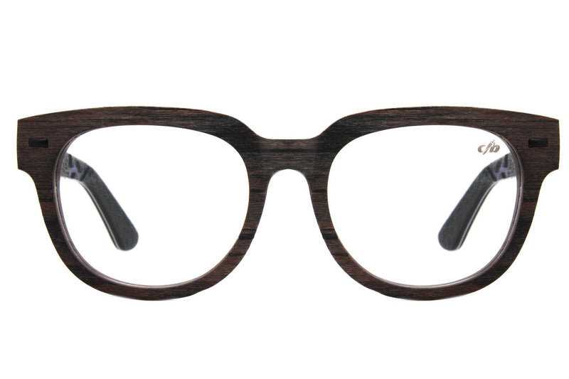 Rock In Rio Square Optical Glasses Dark Brown Acetate