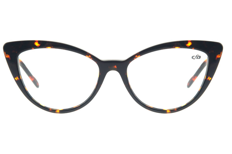 Cat Eye Optical Glasses Turtle Acetate