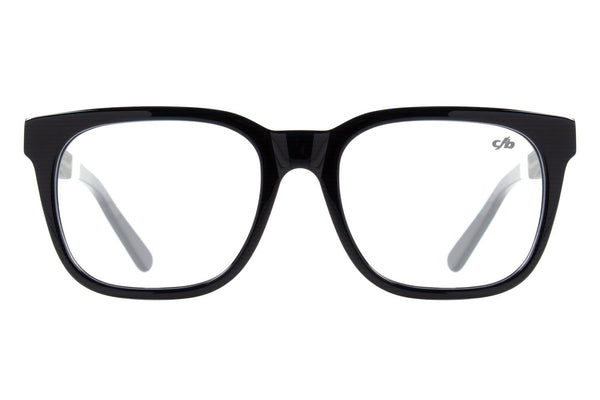 Square Optical Glasses Blue Acetate
