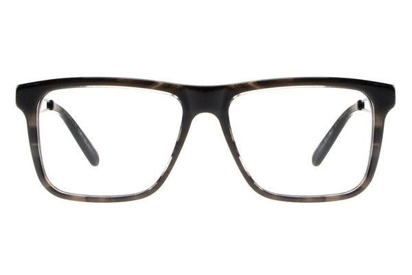20 Years Square Optical Glasses Black Acetate