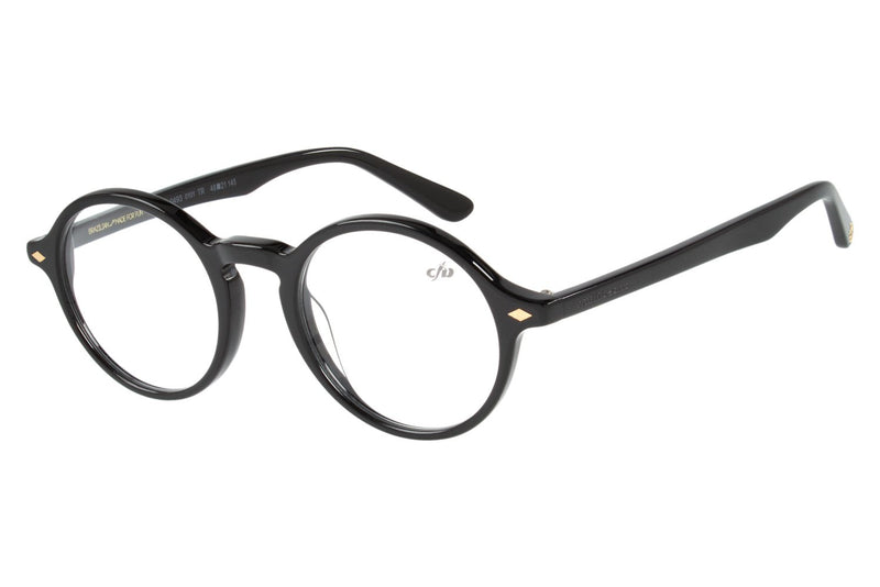 Vintage By Marcelo Sommer Round Optical Glasses Black Acetate