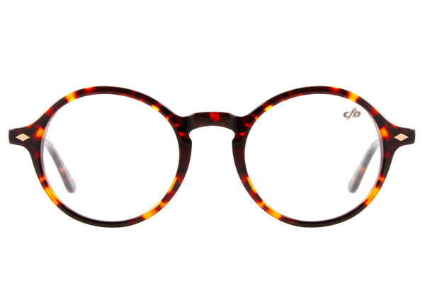 Vintage By Marcelo Sommer Round Optical Glasses Turtle Acetate