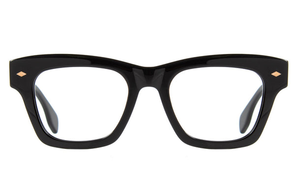 Vintage By Marcelo Sommer Square Optical Glasses Black Acetate
