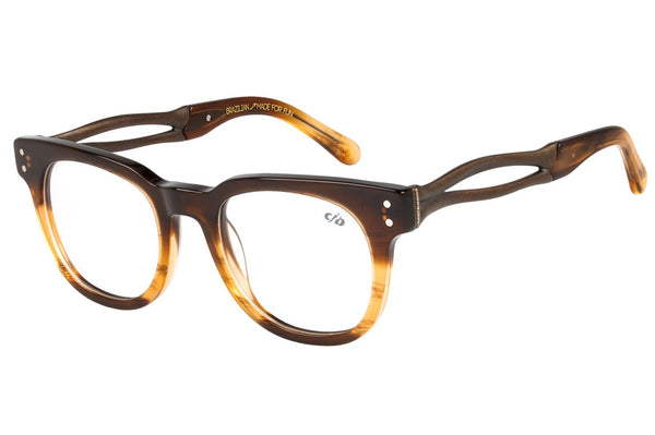 Skulls 2018 Square Optical Glasses Brown Acetate