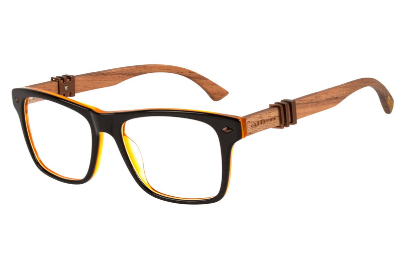 Harry Potter Square Optical Glasses Brown Acetate