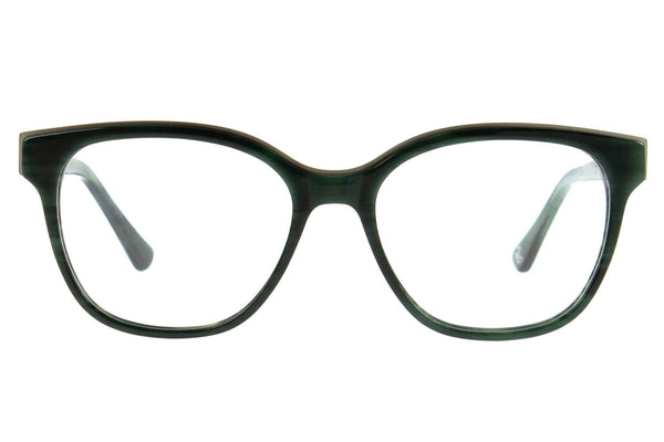 Harry Potter Square Optical Glasses Green Acetate With Stainless Steel