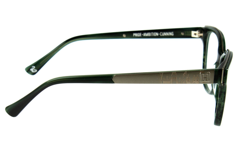 Harry Potter Optical Glasses Acetate Green Silver