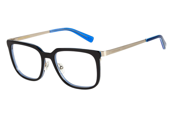 Harry Potter Square Optical Glasses Dark Blue Stainless Steel