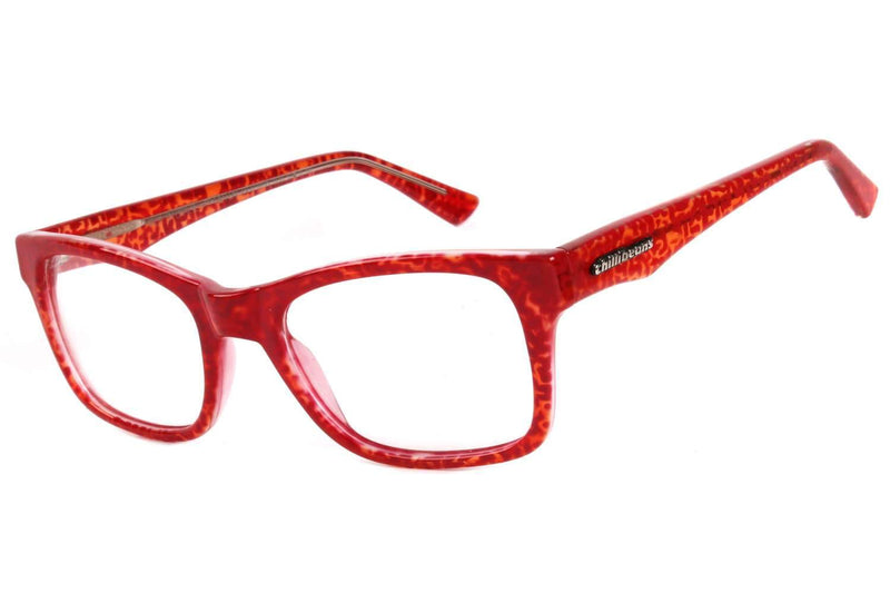 Square Optical Glasses Red Proprianate