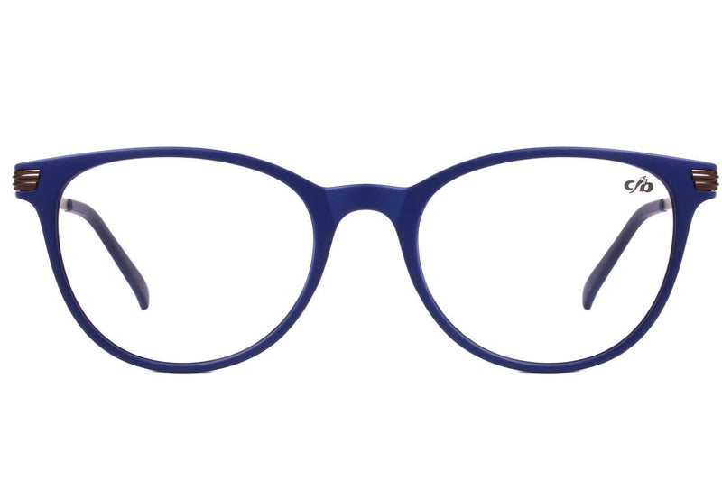 Alexander Hercovitch Round Optical Glasses Blue Tr90