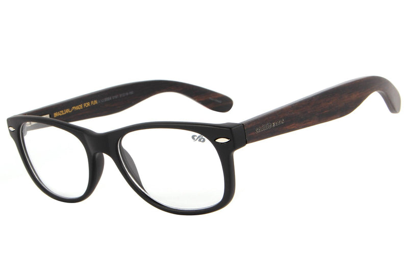 Bossa Nova Optical Glasses Black Tr90