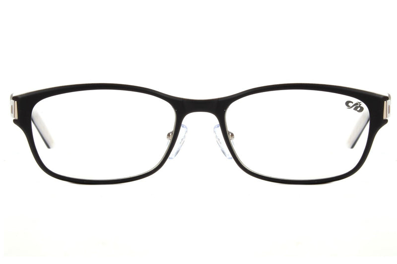 Square Optical Glasses Black Tr90