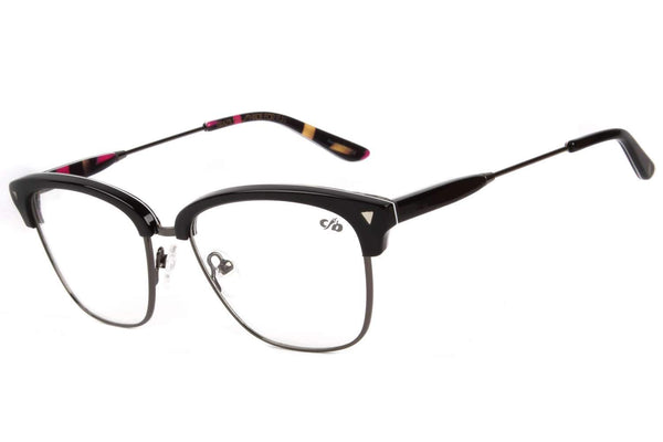 90'S Alexandre Herchcovitch Jazz Optical Glasses Black Acetate