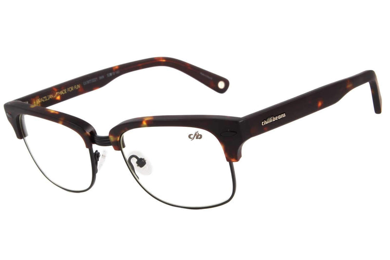 Jazz Optical Glasses Turtle Metal