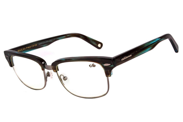 Jazz Optical Glasses Blue Metal