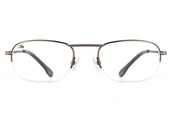Rock Fellas Legiao Urbana Square Optical Glasses Silver Metal