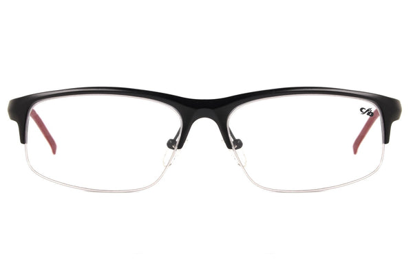 Floating Optical Glasses Black Aluminium