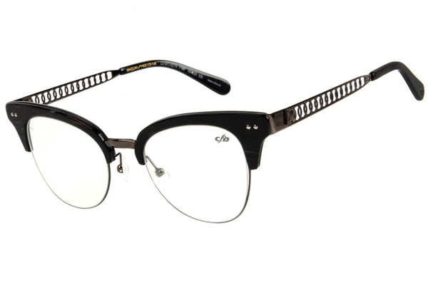 4 Elementos Jazz Optical Glasses Black Metal
