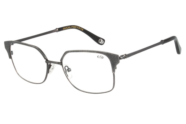 Skulls 2018 Square Optical Glasses Old Gold Stainless Steel
