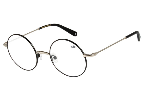 Harry Potter Round Optical Glasses Black Stainless Steel