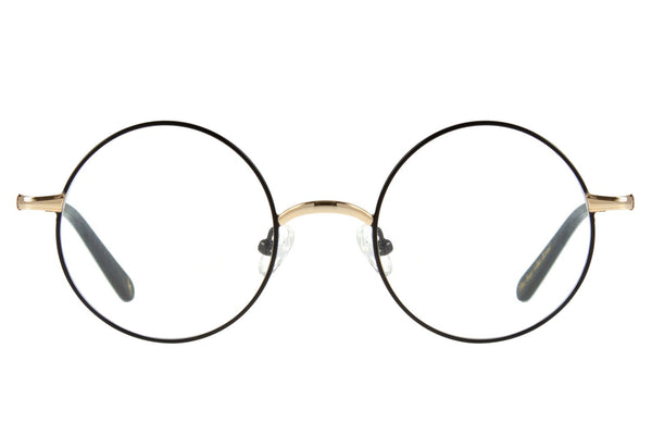 Harry Potter Optical Glasses Round Black Golden