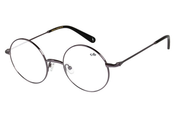 Harry Potter Round Optical Glasses Dark Grey Stainless Steel
