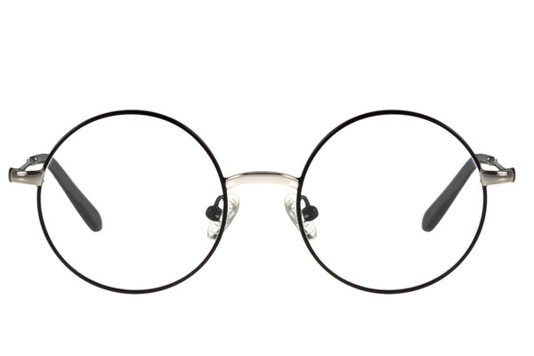 Harry Potter Optical Glasses Black Silver Round
